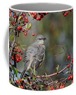 Surrounded By Berries Coffee Mug by Fraida Gutovich