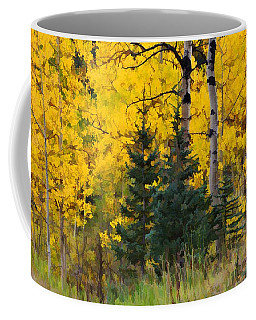 Surrounded By Gold Coffee Mug