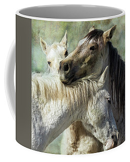 Coffee Mug featuring the photograph Surrounded By Love by Belinda Greb