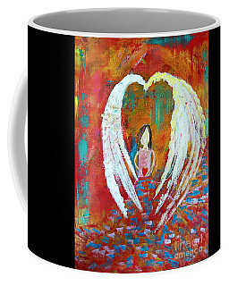 Surrounded By Love Coffee Mug