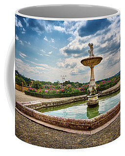 The Monkeys Fountain At The Gardens Of The Knight In Florence, Italy Coffee Mug