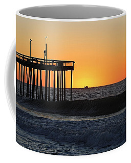 Coffee Mug featuring the photograph Surrounded By Sunrise by Robert Banach
