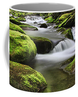 Surrounded In Green Coffee Mug