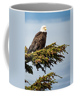 Surveying The Treeline Coffee Mug