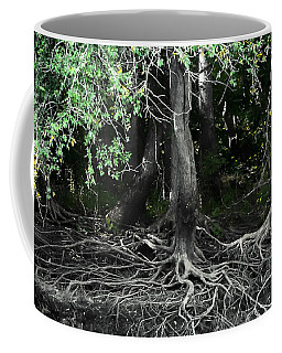 Survival Of The Fittest Coffee Mug by Debra Forand