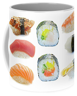 Sushi Set Coffee Mug