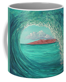 Coffee Mug featuring the painting Suspended In Time by Darice Machel McGuire