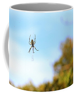 Suspended Spider Coffee Mug