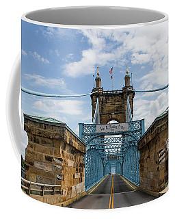 Suspension Bridge Wide Angel Coffee Mug by Scott Meyer