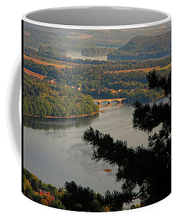 Susquehanna River Below Coffee Mug