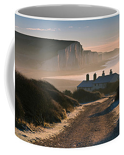 Sussex Coast Guard Cottages Coffee Mug