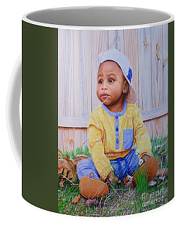 Coffee Mug featuring the painting Sutton by Mike Ivey