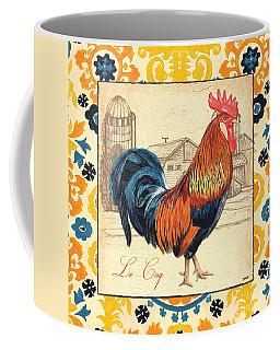 Suzani Rooster 2 Coffee Mug