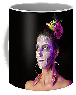 Suz's Sugar Skull Four Coffee Mug