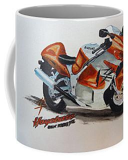 Coffee Mug featuring the painting Suzuki Hayabusa by Richard Le Page