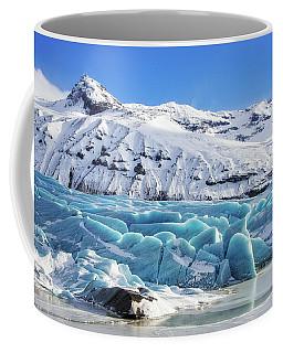 Coffee Mug featuring the photograph Svinafellsjokull Glacier Iceland by Matthias Hauser