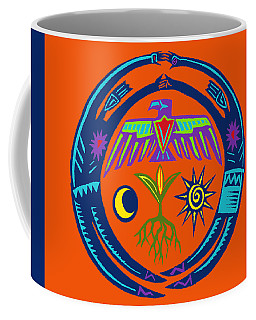 Sw Shaman Eagle Rain Dance Coffee Mug