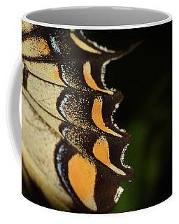 Swallowtail Butterfly Wing Coffee Mug