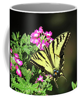 Swallowtail In The Garden 1 - Visions Of Spring Coffee Mug by Brooks Garten Hauschild