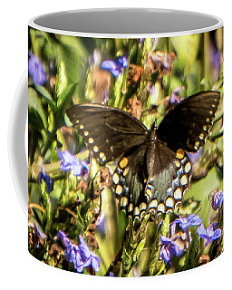 Swallowtail Coffee Mug by Jane Luxton