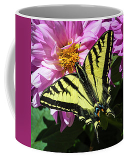 Coffee Mug featuring the photograph Swallowtail by Mark Mille