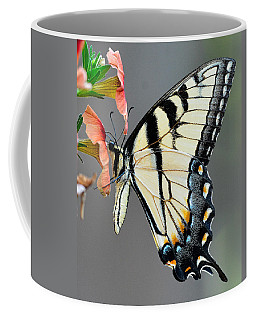 Swallowtail Orange Flower Coffee Mug