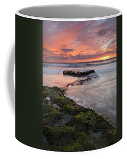 Swami's Beach Sunset Coffee Mug