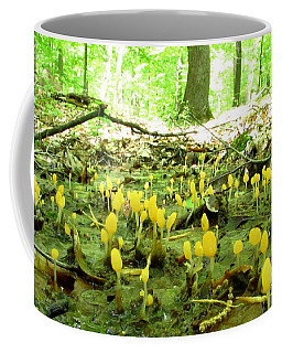 Swamp Becon Fungi Coffee Mug