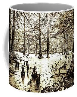 Swamp In Sepia Coffee Mug
