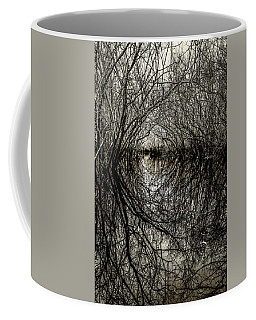 Coffee Mug featuring the photograph Swamp Tunnel by Andy Crawford