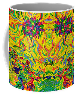 Swampy Garden Mirror Coffee Mug