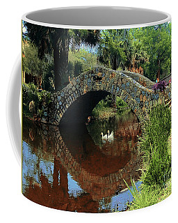 Swans Under The Bridge 2 Coffee Mug