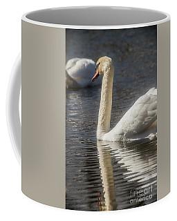 Coffee Mug featuring the photograph Swan by David Bearden