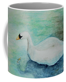 Swan Flight Coffee Mug