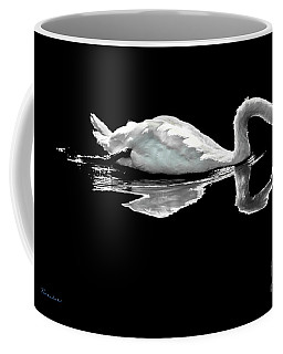Swan Lake Nature Photo 2121a Coffee Mug