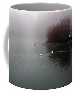 Swan Pond Coffee Mug