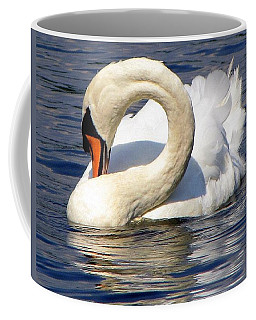 Swan Splendor Coffee Mug