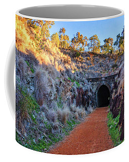 Swan View Railway Tunnel Coffee Mug by Dave Catley
