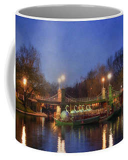 Swanboats In The Public Garden 3 - Boston Coffee Mug by Joann Vitali