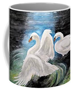 Swans In Love Coffee Mug