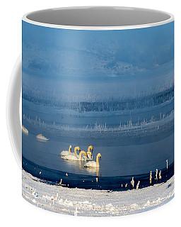 Swans On The Lake Coffee Mug