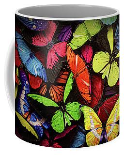 Swarm Of Butterfles  Coffee Mug