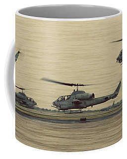 Swarming Cobras Coffee Mug