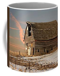 Swayback Barn Coffee Mug by Kathy M Krause