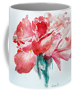 Coffee Mug featuring the painting Swaying by Jasna Dragun