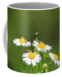 Coffee Mug featuring the photograph Sweat Bee by Rick Morgan