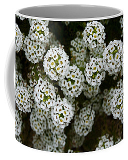Sweet Alyssum Coffee Mug