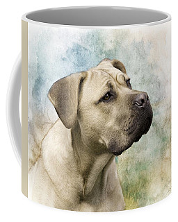 Sweet Cane Corso, Italian Mastiff Dog Portrait Coffee Mug