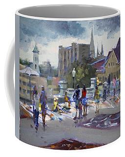 Sweet Chalk Festival In Lockport Coffee Mug
