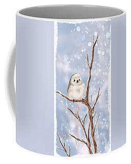 Coffee Mug featuring the painting Sweet Cold by Veronica Minozzi